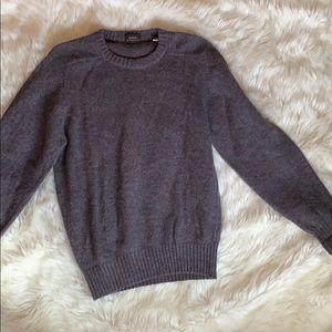 Men's Vintage Purple Wool Sweater